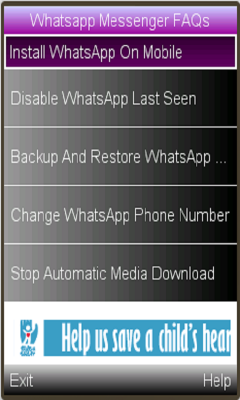 Free Download Whatsapp Messenger Features for Nokia 2700 - App