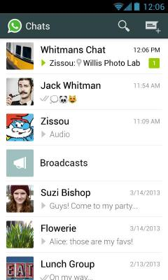 WhatsApp Messenger S40