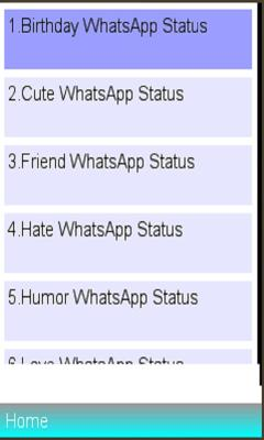 WhatsApp Statuses Review