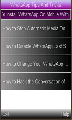 WhatsApp Tips/ Tricks