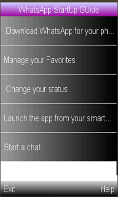 WhatsApp User Guide