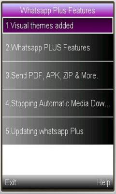 Whatsup plus features