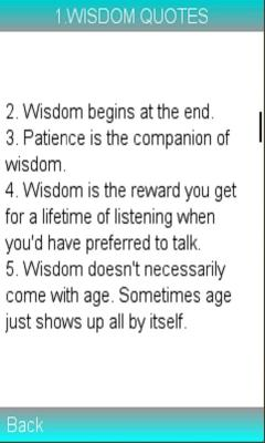 WISDOM QUOTES LEARN MORE