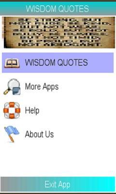 WISDOM QUOTES MANUAL