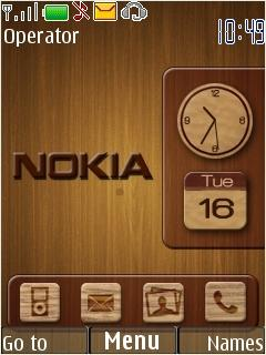 Wooden Nokia